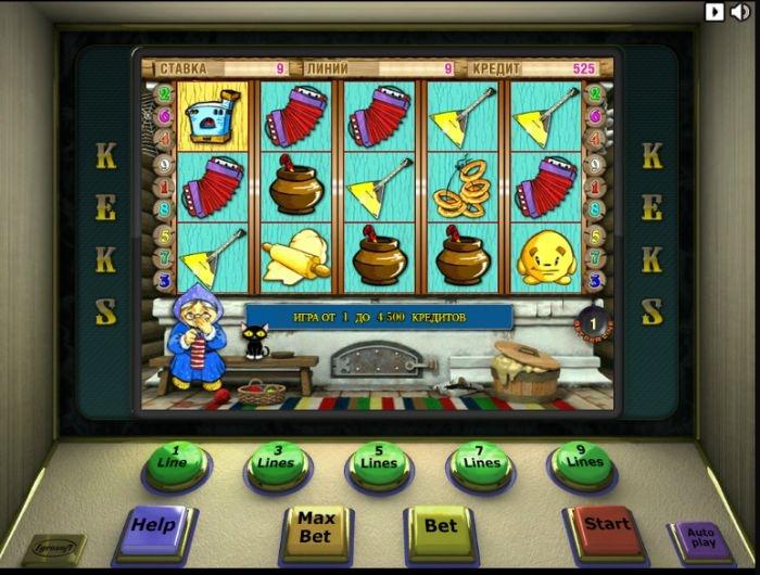 Игровое Автомат от Игрософт Кексы